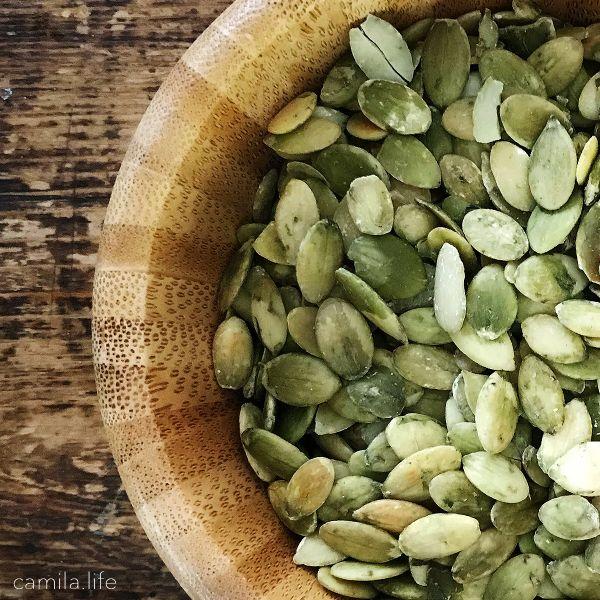 Pumpkin Seeds - Vegan Ingredient on camila.life