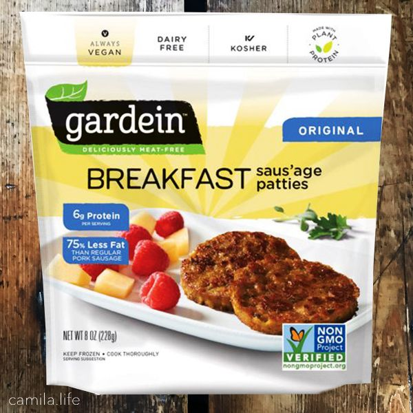 Breakfast Sausage Patties - Vegan Ingredient on camila.life
