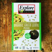 Green Lentil Penne Pasta