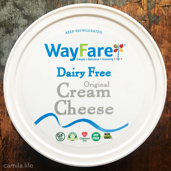 WayFare Cream Cheese - Vegan Ingredient on camila.life