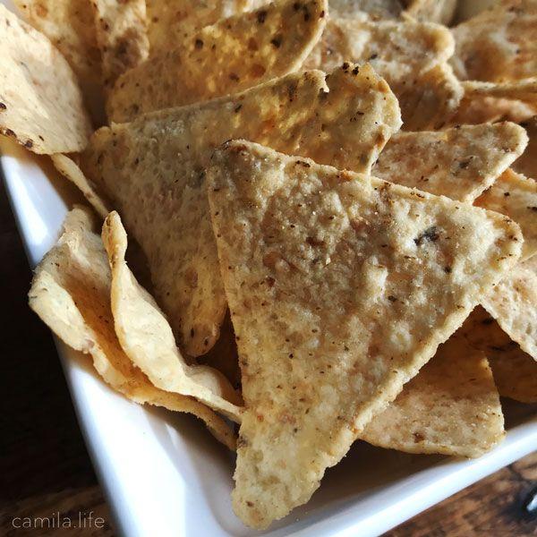 Tortilla Chips - Vegan Ingredient on camila.life