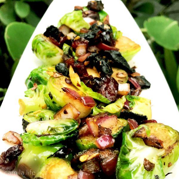 Brussel Bacon LOVE - Vegan Recipe on camila.life