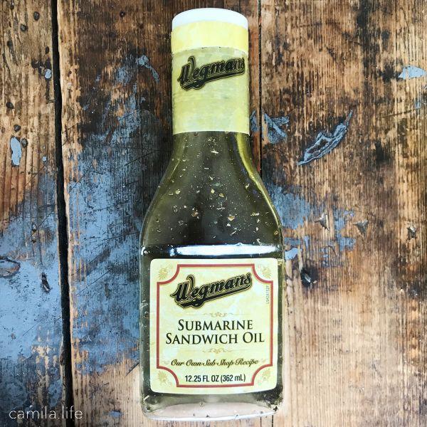 Submarine Sandwich Oil-Wegmans - Vegan Ingredient on camila.life