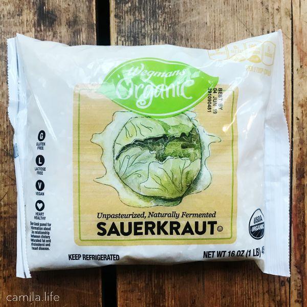 Sauerkraut - Vegan Ingredient on camila.life