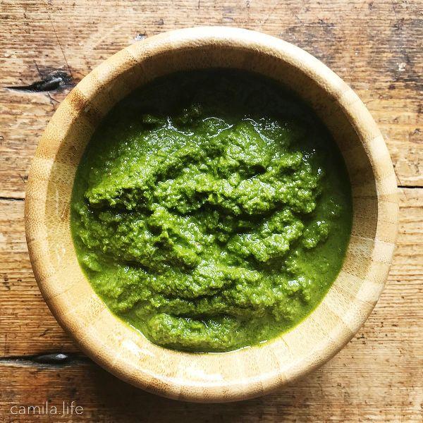 Pesto Power - Vegan Recipe on camila.life